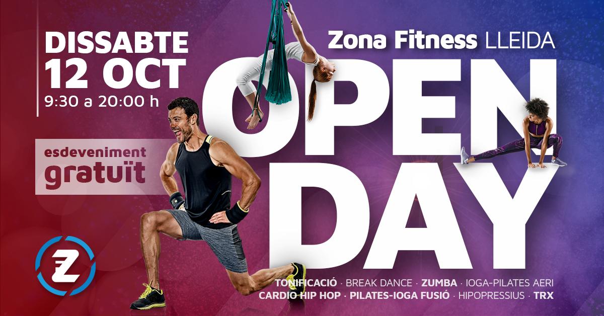 Open Day Zona Fitness Lleida