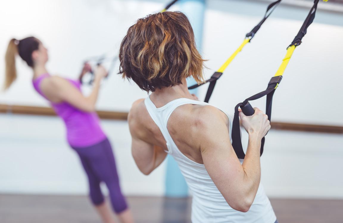 Entrenament de TRX de tot el cos