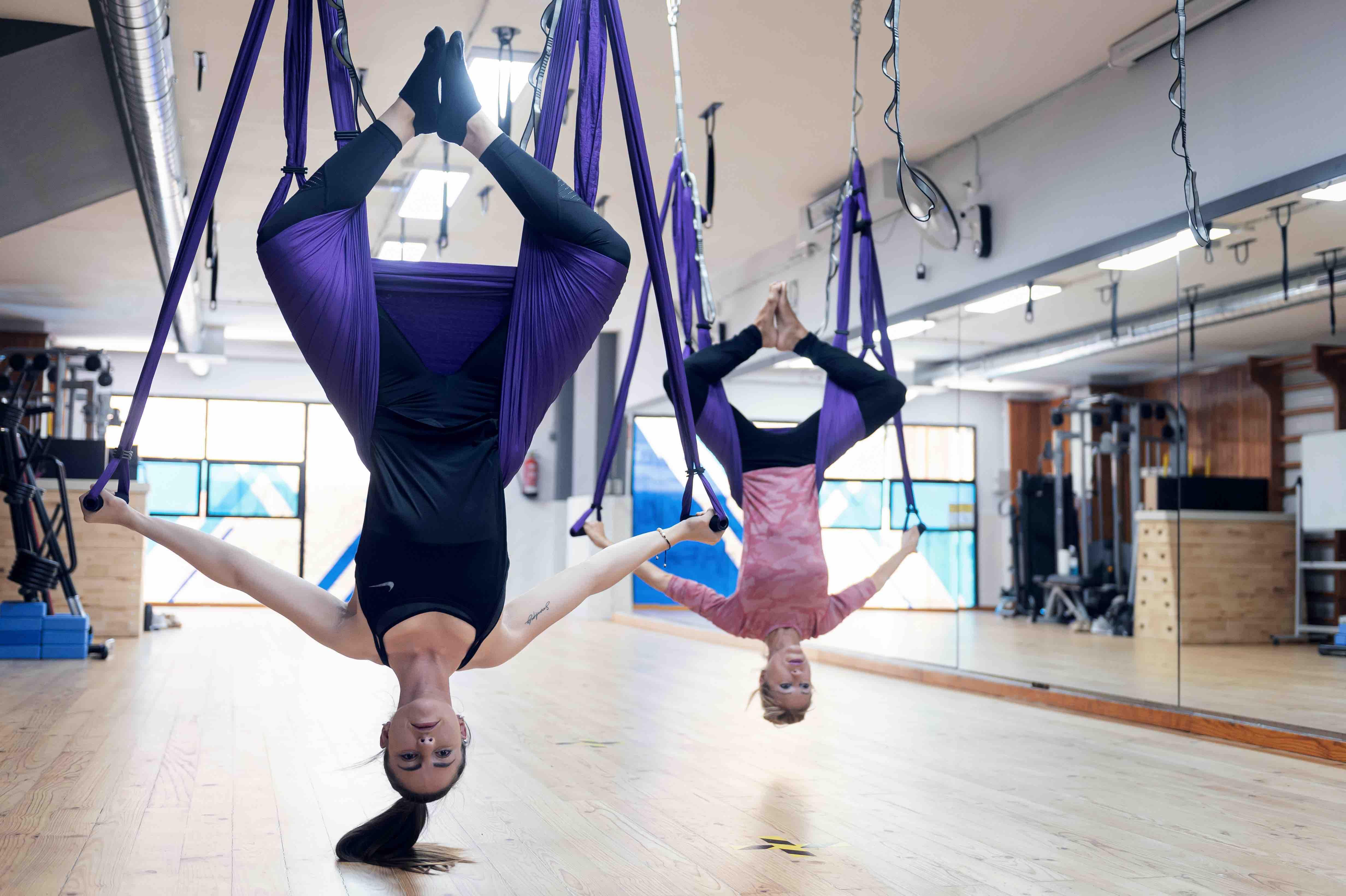Beneficis del Ioga Pilates Aeri